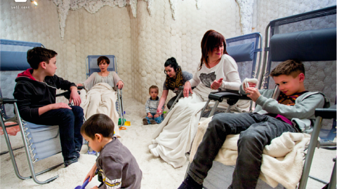 Salt Caves for children with asthma, allergies and more.